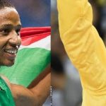 Dyan and Wayde Wins at the South African Sports Awards