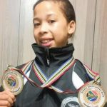 Cassidy Wins Gold at the Karate Championships