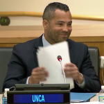 Sherwin Re-Elected as President of United Nations Correspondents Association