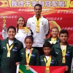 Junaid Makes Gold Medal History at Hong Kong International Kungfu Wushu Championships