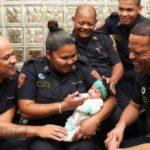 Baby Bronlyn-Lee Saved by Heroic Firefighters